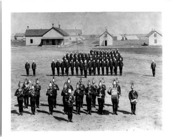 Church Parade Depot 1890