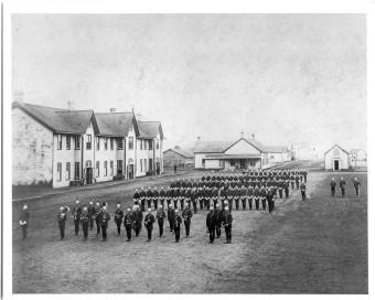 Church Parade Depot 1897
