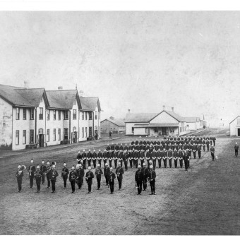 Church Parade Depot 1897