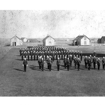 Church Parade Regina 1895