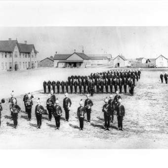 Church Parade2 Regina 1895