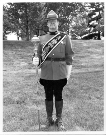 Drum Major Cpl Gord Price
