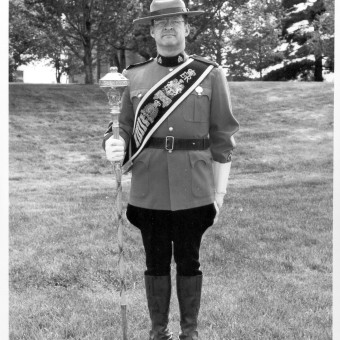 Drum Major Cpl Gord Price