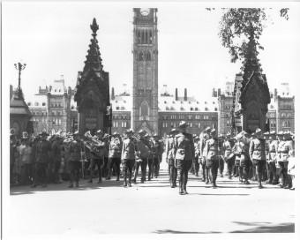 funeral MacKenszie King Ottawa July 1950