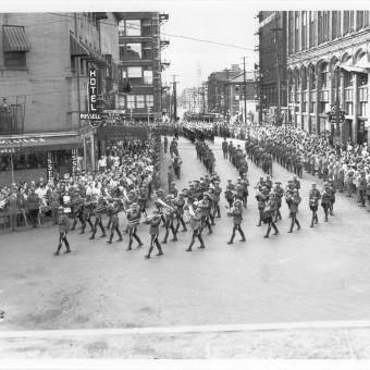funeral MacKenszie King Ottawa w RCAF BandJuly 1950