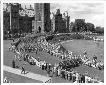 funeral MacKenszie King2 Ottawa July 1950
