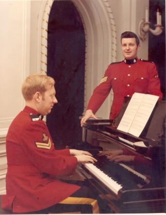 Jim Brough & Garth Hampson