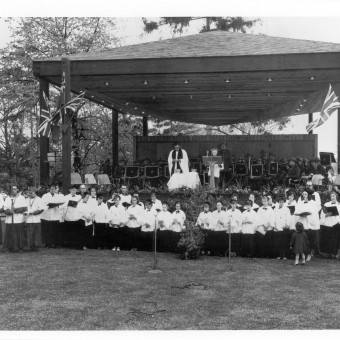 Niagara Falls Blossom festival church service 18-24 05 1963