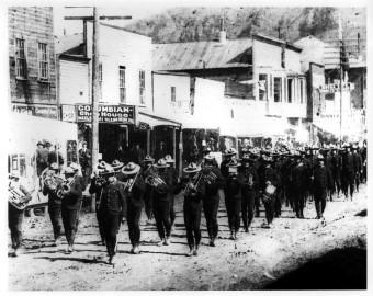 NWMP Band Dawson Yukon 1899
