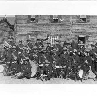 NWMP Band Dawson Yukon 1903