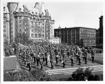 Royal Visit Ottawa w Army & Air Force Bands 1951
