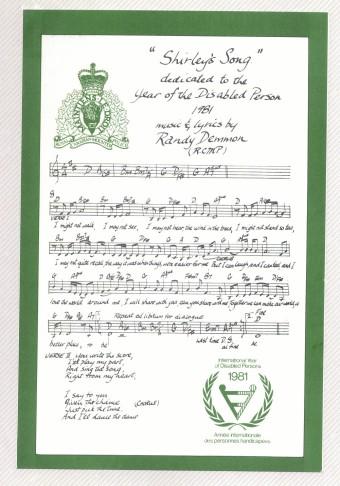 Shirleys Song