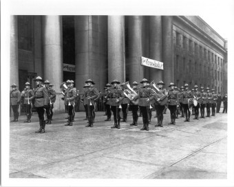 Union Station Toronto Nov 1942